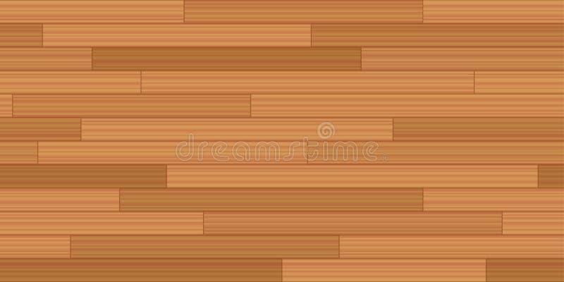 Ξύλινο άνευ ραφής υπόβαθρο παρκέ Woodstrip δαπέδων απεικόνιση αποθεμάτων