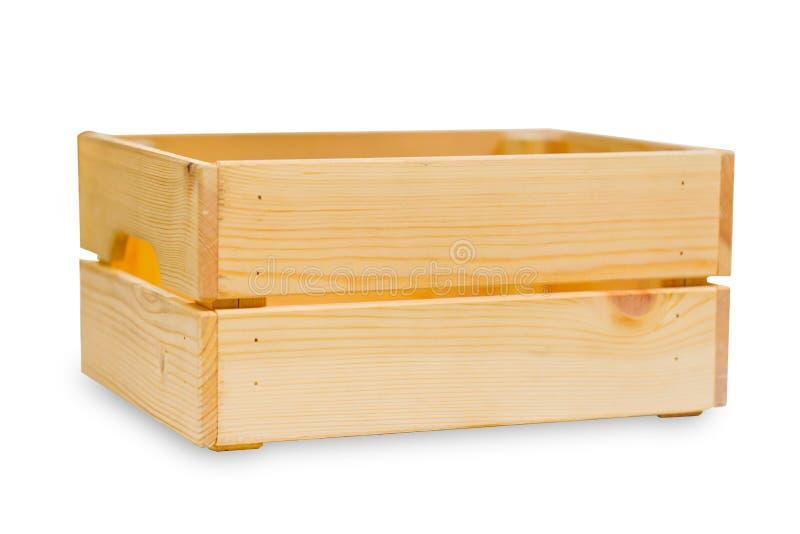 Ξύλινο κιβώτιο ή ξύλινος καλός δίσκος ναυτιλίας φορτίου ξύλινος στοκ φωτογραφίες