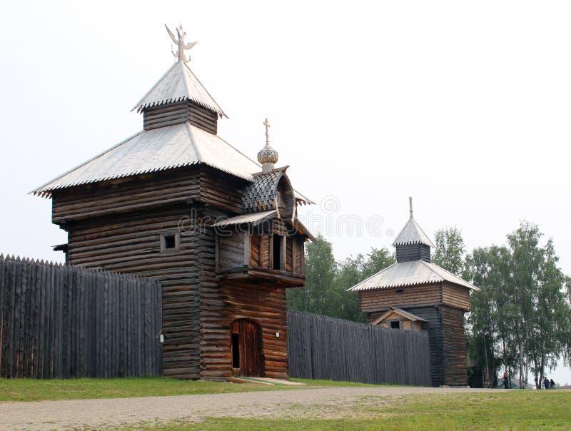 Ξύλινο κτήριο στοκ εικόνες με δικαίωμα ελεύθερης χρήσης