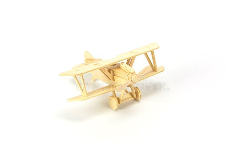 Ξύλινο πρότυπο αεροπλάνων στοκ φωτογραφίες