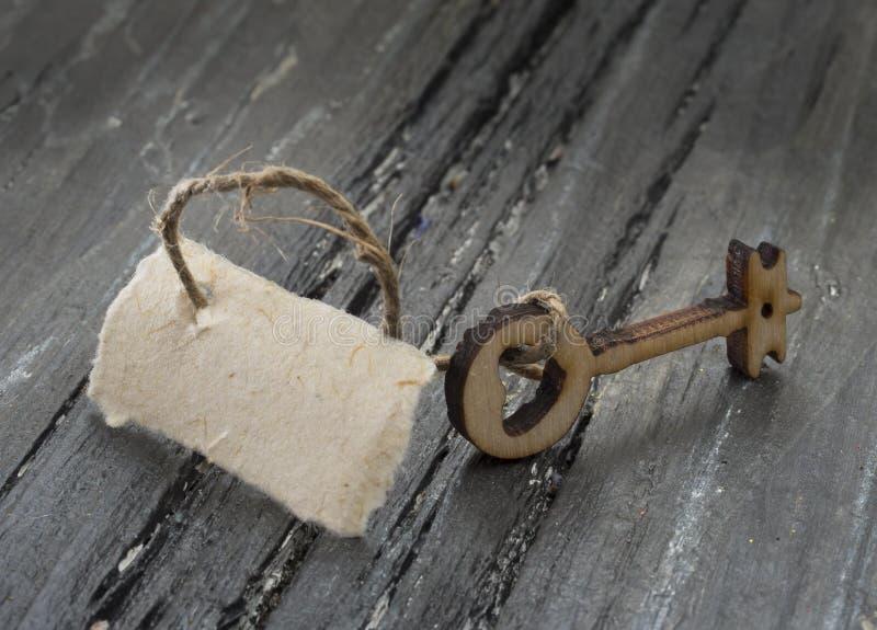 Ξύλινο πλήκτρο στοκ εικόνα με δικαίωμα ελεύθερης χρήσης