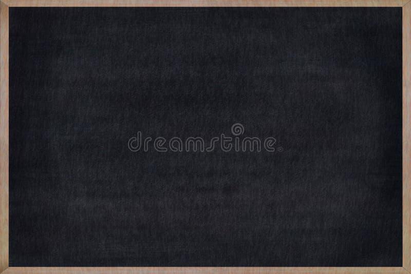 Ξύλινο πλαίσιο πινάκων κιμωλίας με τη μαύρη επιφάνεια ελεύθερη απεικόνιση δικαιώματος