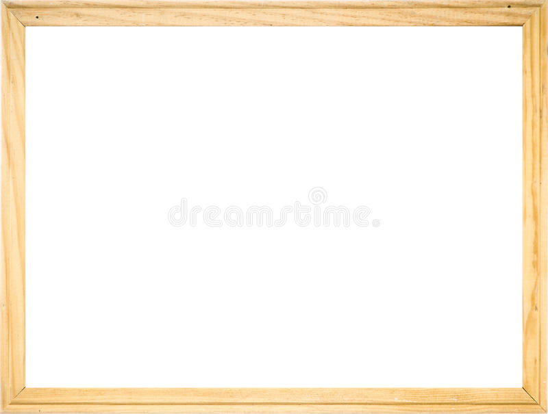 Ξύλινο πλαίσιο στοκ φωτογραφία