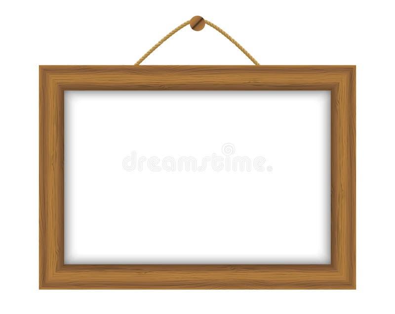 Ξύλινο πλαίσιο ελεύθερη απεικόνιση δικαιώματος
