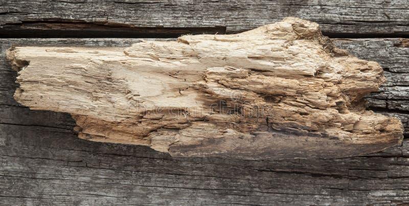 Ξύλινο σημάδι στο ξύλινο υπόβαθρο σανίδων στοκ φωτογραφία