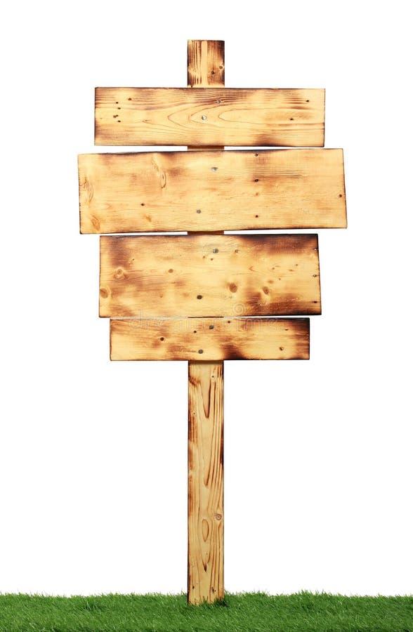 Ξύλινο σημάδι στοκ εικόνες με δικαίωμα ελεύθερης χρήσης