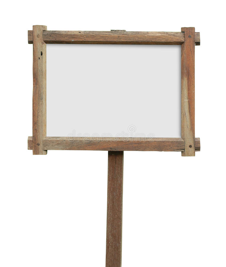 Ξύλινο σημάδι στοκ φωτογραφία με δικαίωμα ελεύθερης χρήσης