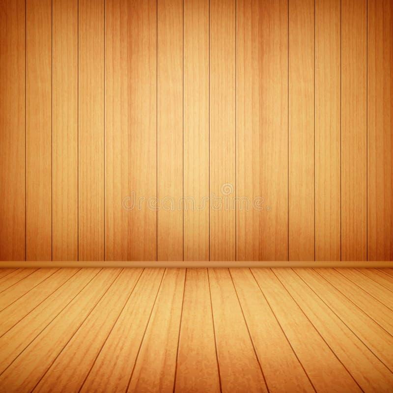 Ξύλινο υπόβαθρο πατωμάτων και τοίχων στοκ εικόνα