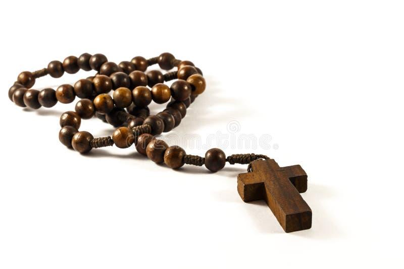 Ξύλινο rosary στοκ φωτογραφίες με δικαίωμα ελεύθερης χρήσης