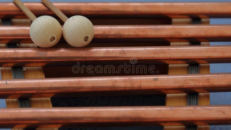 Ξύλο Vibraphone στοκ εικόνες
