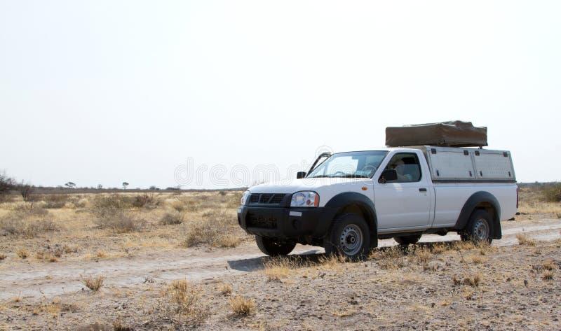 Οδήγηση ανοιχτών φορτηγών στη Μποτσουάνα στοκ φωτογραφίες με δικαίωμα ελεύθερης χρήσης