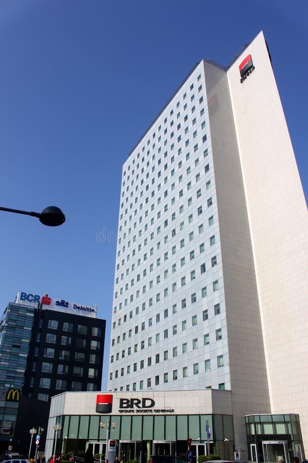 ΟΔΓ Groupe Societe Generale - κτίριο γραφείων στοκ φωτογραφία με δικαίωμα ελεύθερης χρήσης