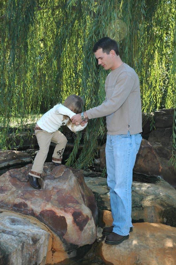 οδηγίες μπαμπάδων στοκ φωτογραφίες