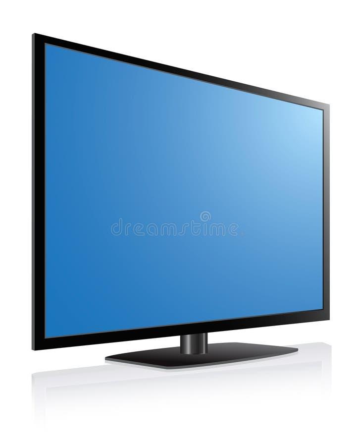 οδηγημένη LCD TV πλάσματος στοκ φωτογραφίες με δικαίωμα ελεύθερης χρήσης