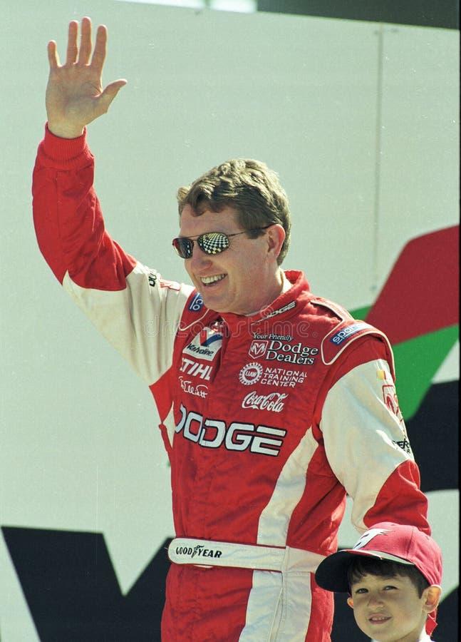 Οδηγοί Μπιλ NASCAR και αυλάκωμα Elliott στοκ φωτογραφίες