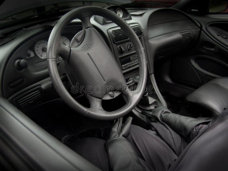 οδηγός αυτοκινήτων στοκ εικόνα