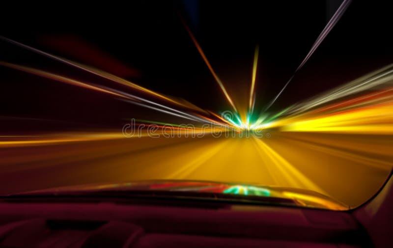 Οδηγός νύχτας στοκ εικόνες