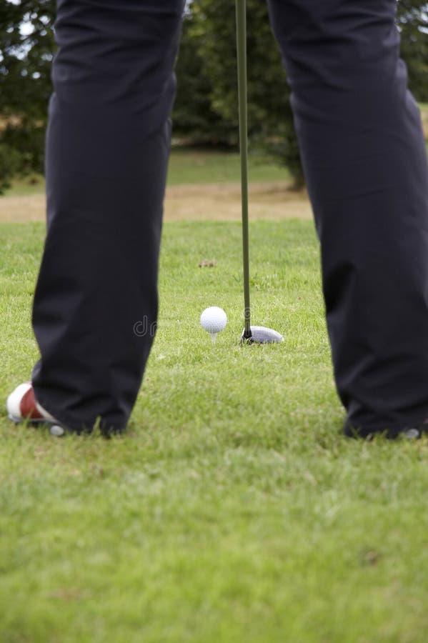 οδηγώντας γκολφ 01 σφαιρών Στοκ Φωτογραφία