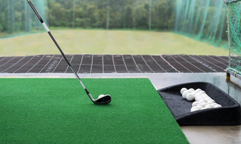 οδηγώντας σειρά γκολφ στοκ εικόνες με δικαίωμα ελεύθερης χρήσης