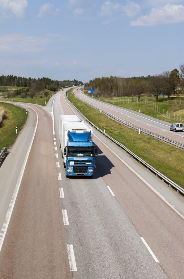 οδηγώντας φορτηγό επαρχία στοκ φωτογραφίες με δικαίωμα ελεύθερης χρήσης