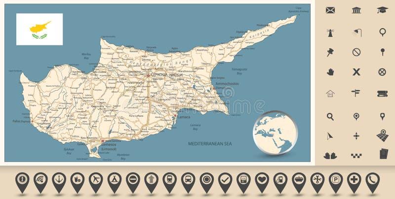 Odikos Xarths Toy Mesogeiakoy Nhsioy Kypros Dianysmatikh