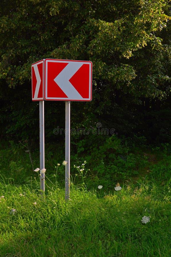 Οδικό σημάδι προειδοποίησης στοκ εικόνα