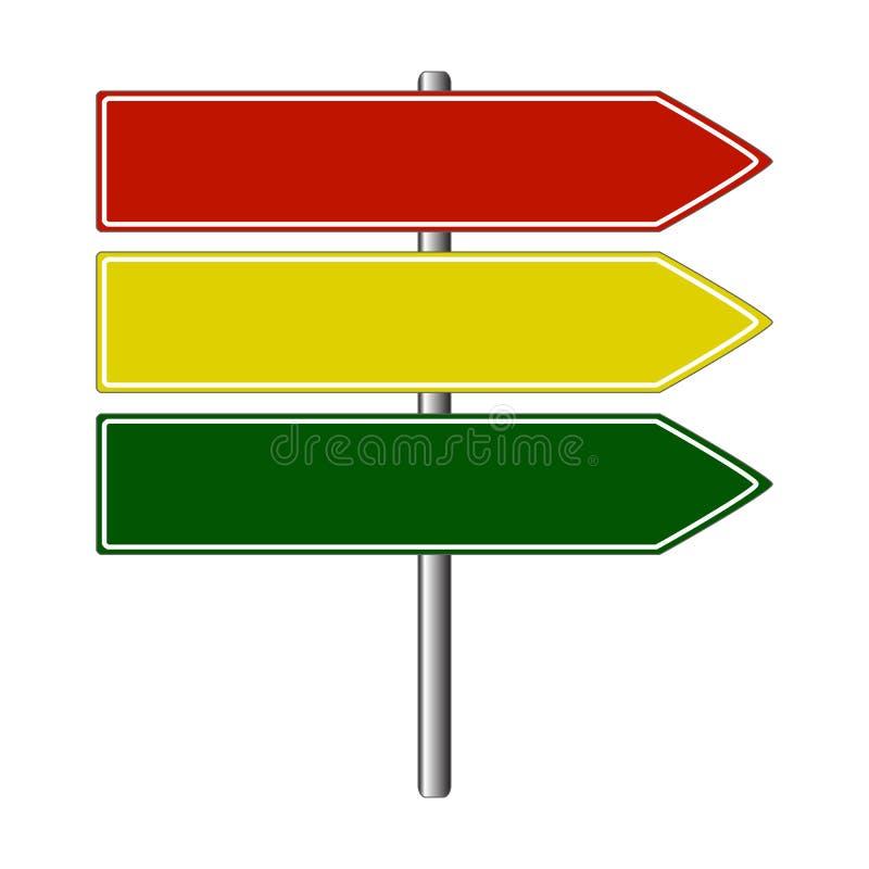 Download οδικό σημάδι χρωμάτων διανυσματική απεικόνιση. εικονογραφία από ήπια - 13186847