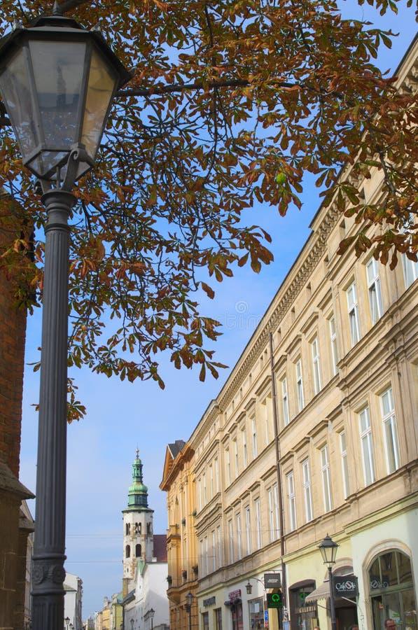 Οδοί της Κρακοβίας στοκ φωτογραφία με δικαίωμα ελεύθερης χρήσης