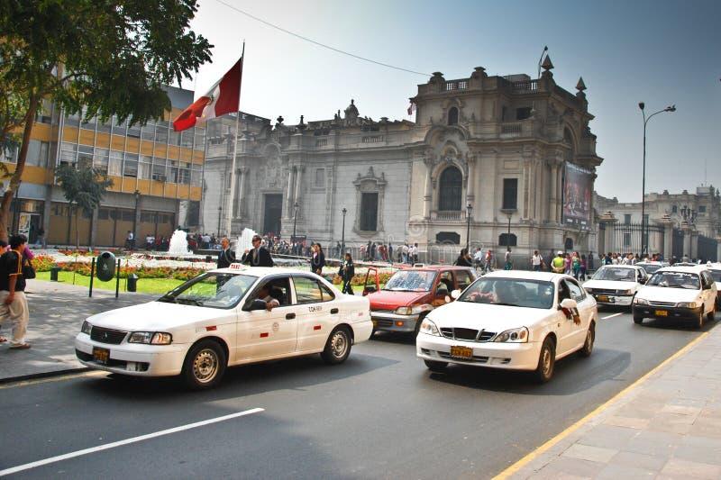 Οδοί της Λίμα, Περού στοκ φωτογραφία