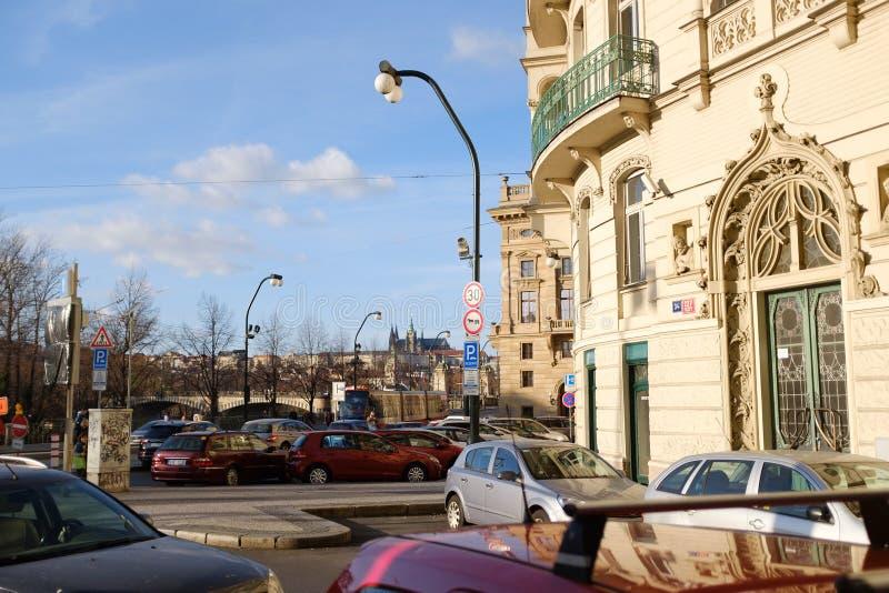 Οδοί της Πράγας στοκ φωτογραφίες με δικαίωμα ελεύθερης χρήσης