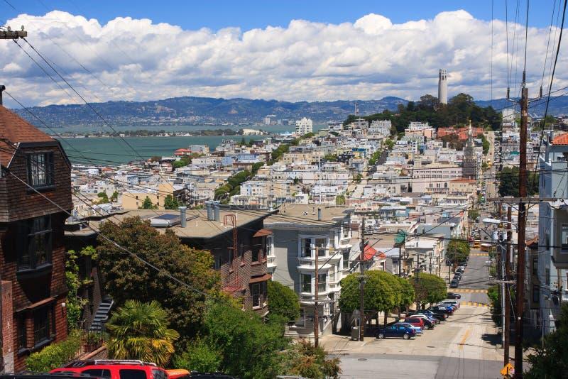 Οδοί του Σαν Φρανσίσκο στοκ εικόνες με δικαίωμα ελεύθερης χρήσης