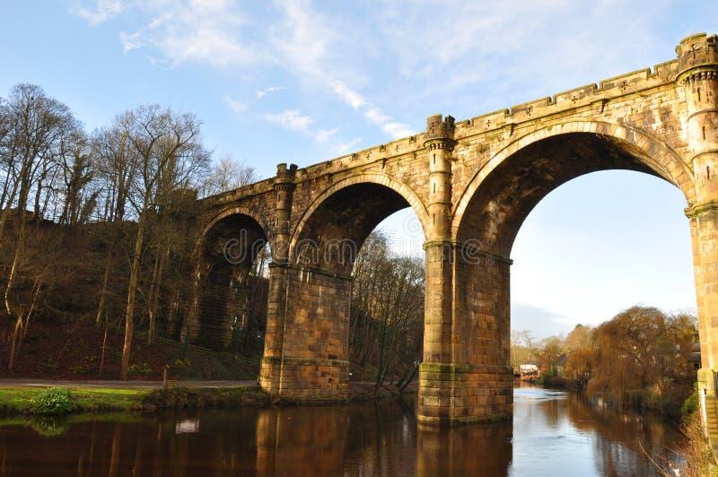 Οδογέφυρα γεφυρών του Γιορκσάιρ Knaresborough, στοκ φωτογραφίες με δικαίωμα ελεύθερης χρήσης