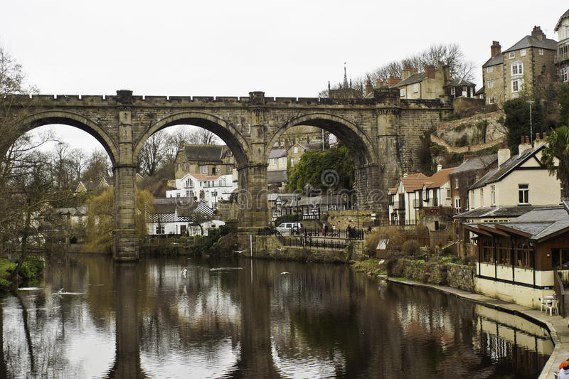 Οδογέφυρα πετρών σε Knaresborough στοκ φωτογραφίες με δικαίωμα ελεύθερης χρήσης