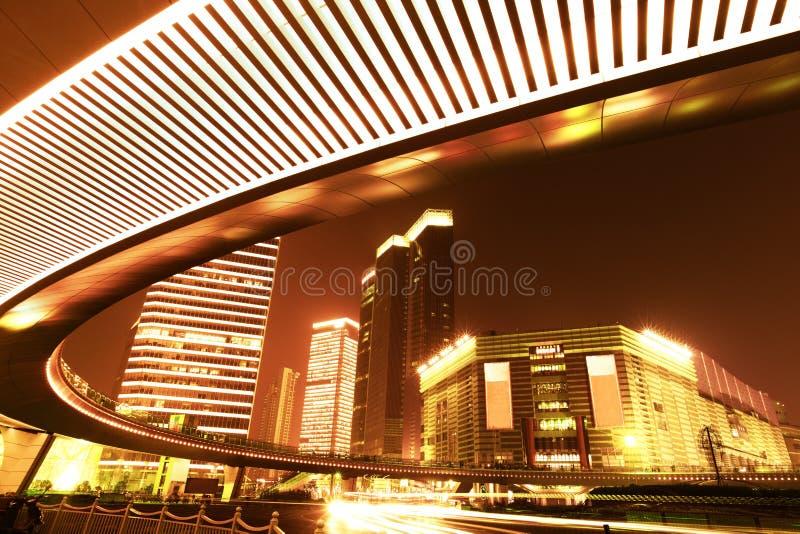 οδογέφυρα της Σαγγάης &epsilon στοκ φωτογραφία με δικαίωμα ελεύθερης χρήσης