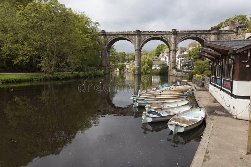 Οδογέφυρα Knaresborough στοκ φωτογραφία