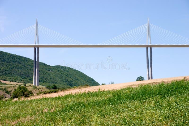 οδογέφυρα millau στοκ εικόνα