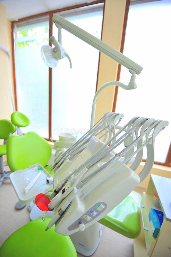 Οδοντικά εργαλεία προσοχής (γραφείο γιατρών) στοκ φωτογραφίες
