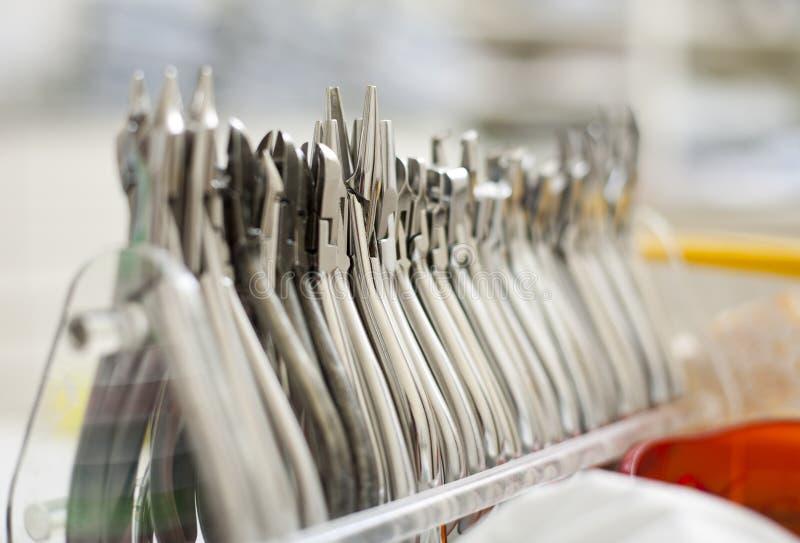 οδοντικές πένσες στοκ εικόνα με δικαίωμα ελεύθερης χρήσης
