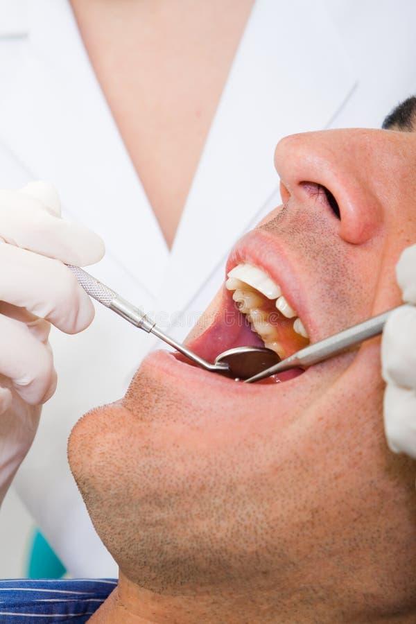 οδοντικός ασθενής στοκ εικόνες