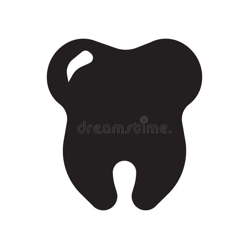 οδοντικό ασφαλιστικό εικονίδιο Καθιερώνουσα τη μόδα οδοντική έννοια ασφαλιστικών λογότυπων στο W ελεύθερη απεικόνιση δικαιώματος