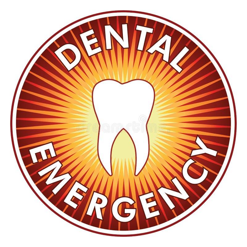 Οδοντικό σχέδιο έκτακτης ανάγκης ελεύθερη απεικόνιση δικαιώματος