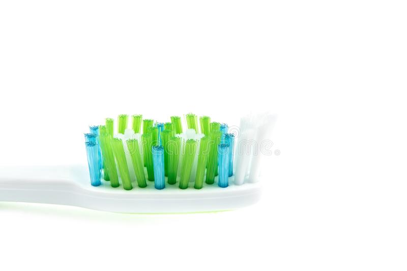 Οδοντόβουρτσα που απομονώνεται οδοντική στοκ φωτογραφία με δικαίωμα ελεύθερης χρήσης