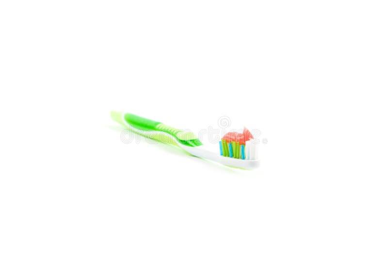 Οδοντόβουρτσα που απομονώνεται οδοντική στοκ φωτογραφία