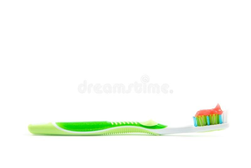 Οδοντόβουρτσα που απομονώνεται οδοντική στοκ εικόνες με δικαίωμα ελεύθερης χρήσης