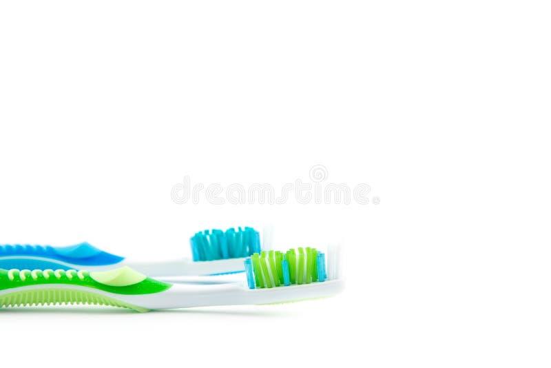 Οδοντόβουρτσα που απομονώνεται οδοντική στοκ εικόνες