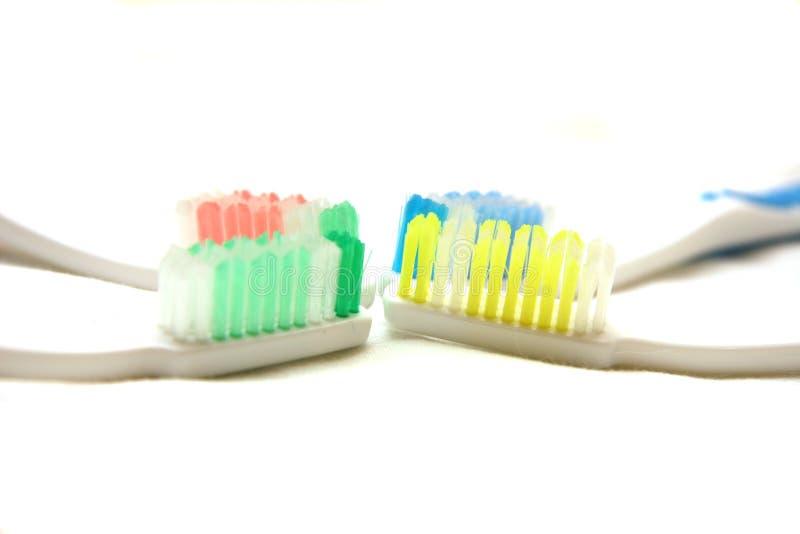 οδοντόβουρτσες στοκ εικόνες