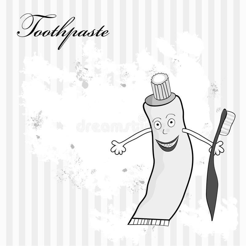 Download οδοντόπαστα διανυσματική απεικόνιση. εικονογραφία από δόντι - 13179723