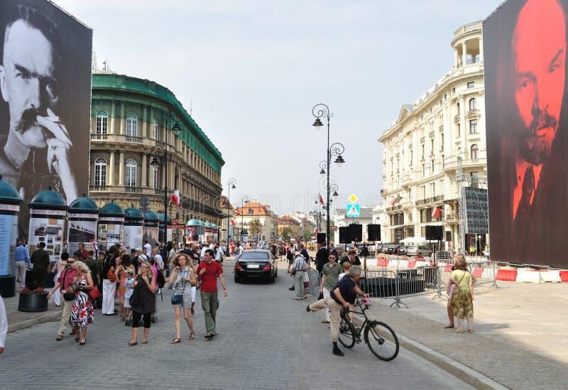 οδός έκθεσης στοκ φωτογραφία με δικαίωμα ελεύθερης χρήσης