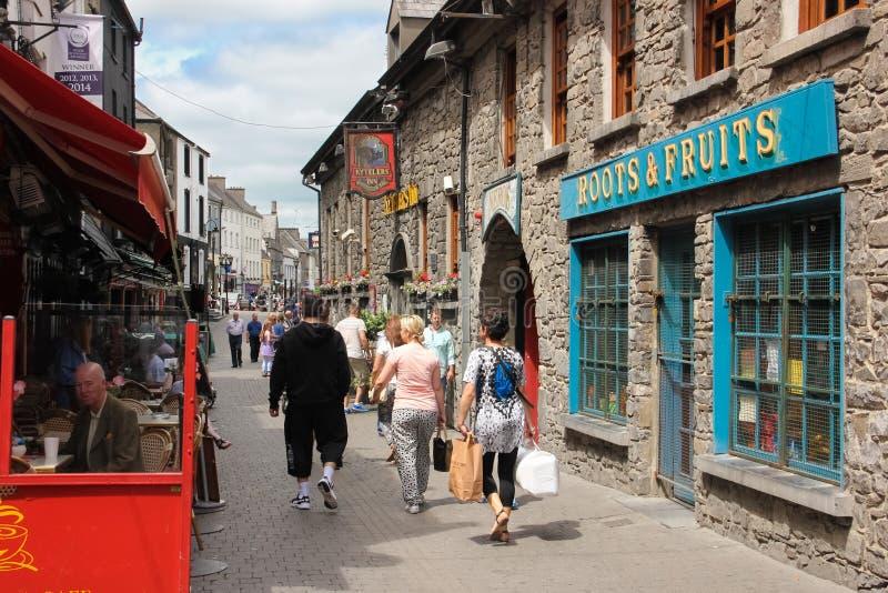 Οδός Αγίου Kieran Kilkenny Ιρλανδία στοκ εικόνες