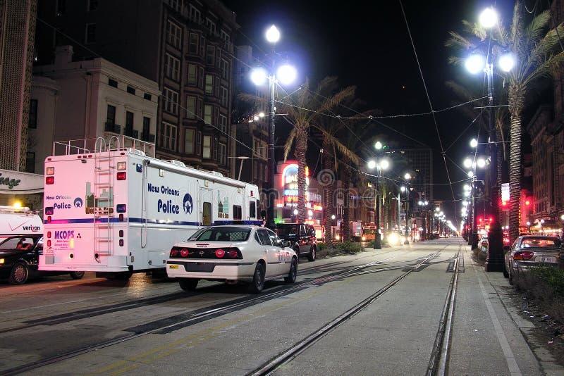 οδός αστυνομίας καναλιώ&n στοκ εικόνα με δικαίωμα ελεύθερης χρήσης